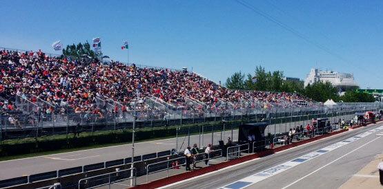 Grandstand 1 Formula 1 Grand Prix Du Canada Circuit